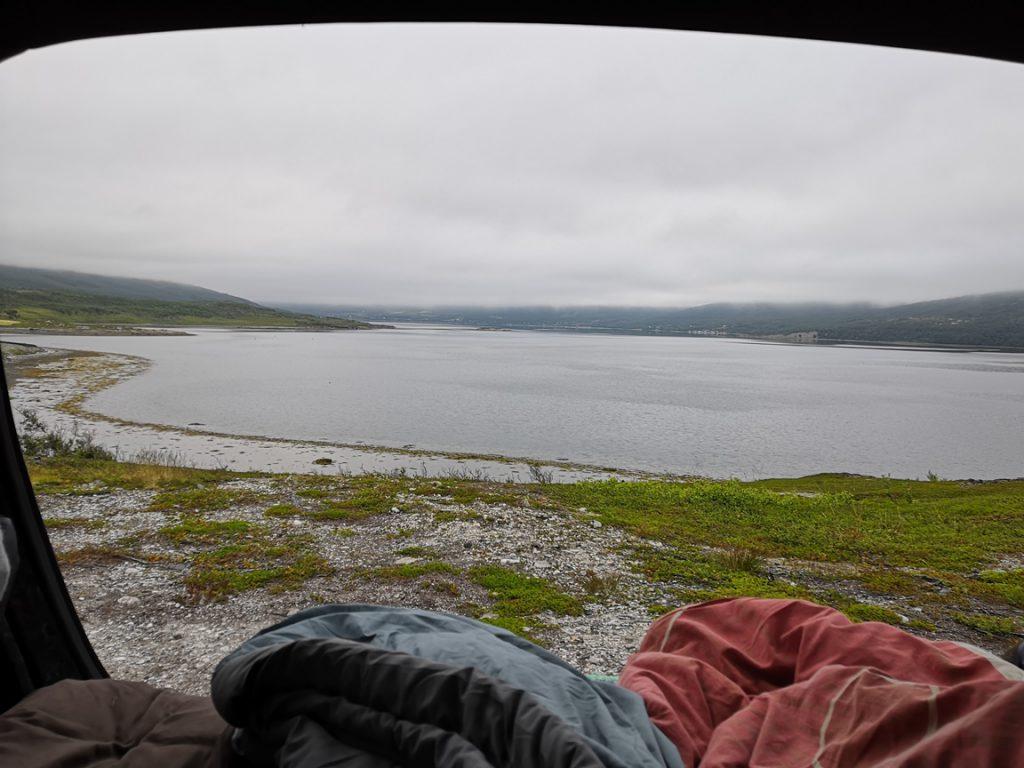 Autolla Pohjois-Norjaan